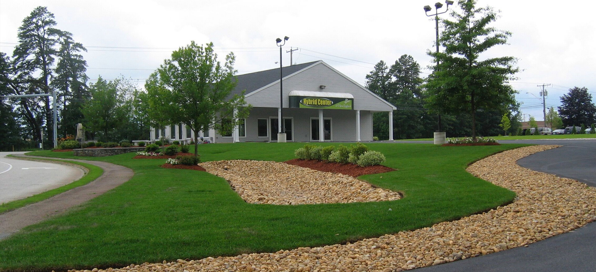 Commercial Lanscaping, Snow Removal and Maintenance